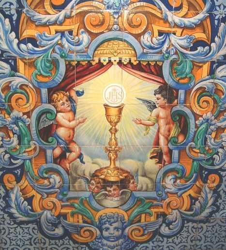 Azulejos sacramentales de sevilla rafaes for Azulejos antiguos sevilla