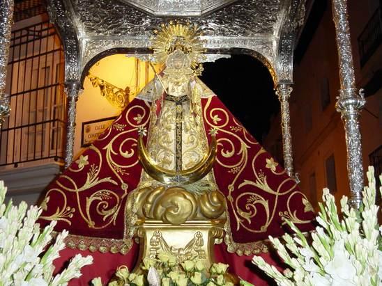 Resultado de imagen de Virgen de los Remedio, patrona de Chiclana.