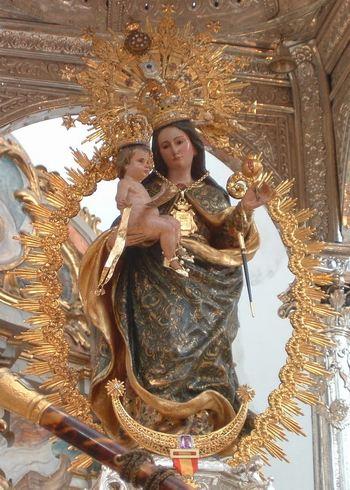 Virgen De La Cinta Procesion 8 De Septiembre Rafaes
