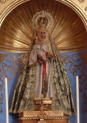 Virgen Del Mar En Sevilla Patrona De Almeria Rafaes