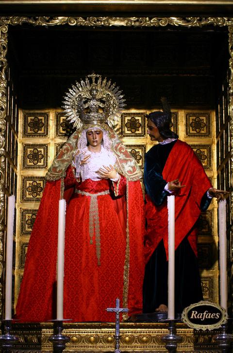 La Amargura Vestida Rojorafaes Virgen De cjL534ARq