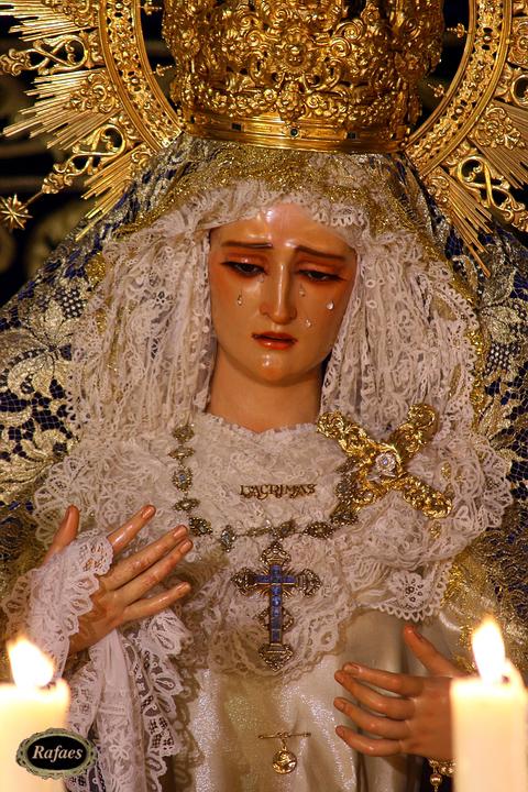 Ntra. Sra. de las Lágrimas, Semana Santa Sevilla 2008