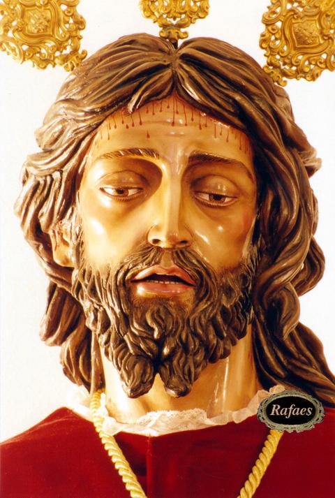 La Imagen es obra de Francisco José Reyes Villadiego, bendecido el día 9 de junio de 1990. - RAFAES-99147518234987388577823460181