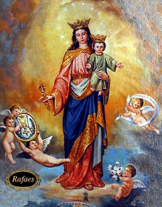 Santoral maria auxiliadora 24 de mayo rafaes for Todo pintura sevilla