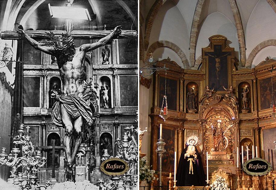 Interior de la iglesia de santa catalina antes de su - Parroquia santa catalina la solana ...