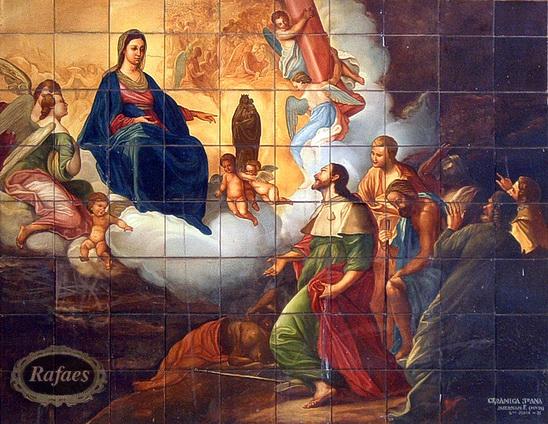 Santiago ap stol 25 de julio santoral rafaes - Azulejos el pilar ...
